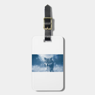 Wolf Office Home Personalize Destiny Destiny'S Luggage Tag
