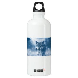 Wolf Office Home Personalize Destiny Destiny'S Water Bottle