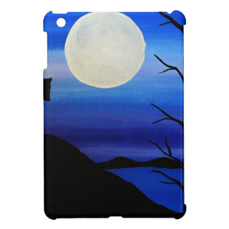 wolf on the mountain case for the iPad mini