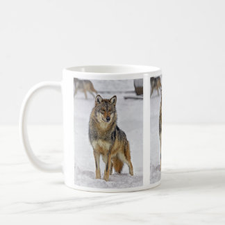 Wolf On Watch Mug