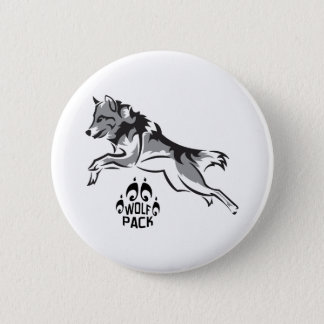 WOLF PACK 2 INCH ROUND BUTTON