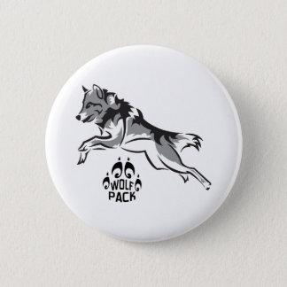 WOLF PACK 2 INCH ROUND BUTTON