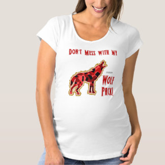 Wolf Pack Maternity T-Shirt