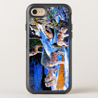 wolf painting - wolf family - wolfpack OtterBox symmetry iPhone 8/7 case
