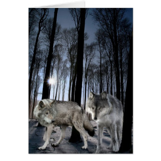 Wolf pair cards