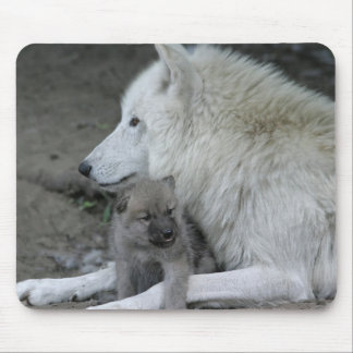 Wolf Parent Mousepad