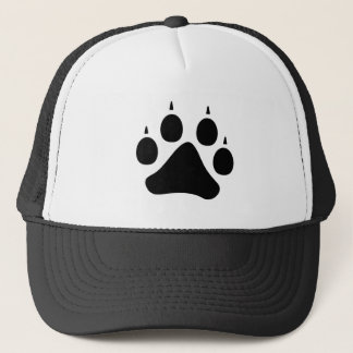 Wolf Paw (Black) Trucker Hat