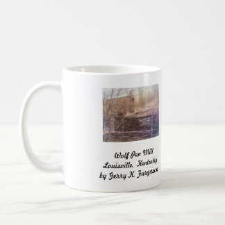 """WOLF PEN MILL"" COFFEE MUG"