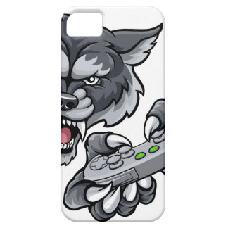 Wolf Player Gamer Mascot iPhone 5 Cover