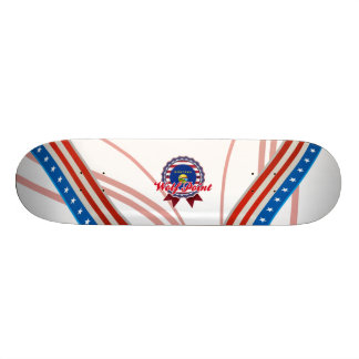 Wolf Point, MT Custom Skate Board