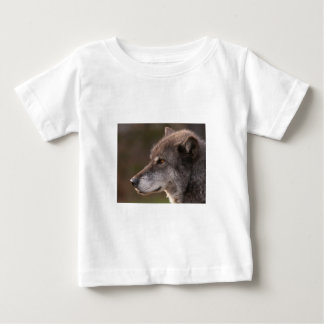 Wolf Profile Baby T-Shirt