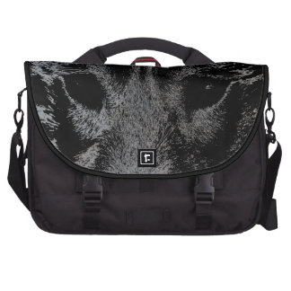 Wolf Pup Laptop Bag Wolf Dog Travel Bags
