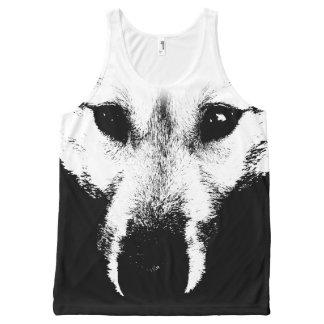 Wolf Pup Shirts Wolf Pup Dog Tank Top Shirts