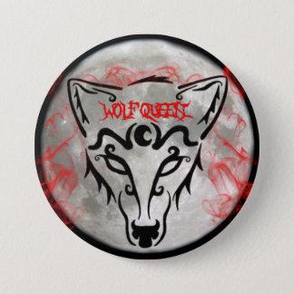 Wolf Queen Button