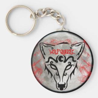 Wolf Queen Keychain