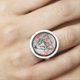 Wolf Queen Ring