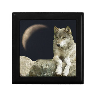 Wolf Relaxing Keepsake Box