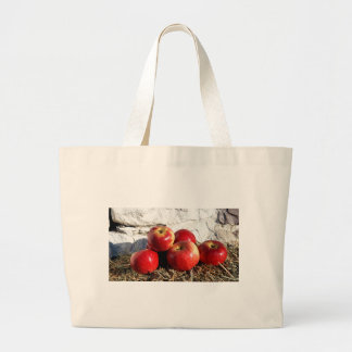 Wolf River Apples Large Tote Bag