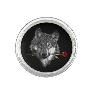 Wolf Rose Ring