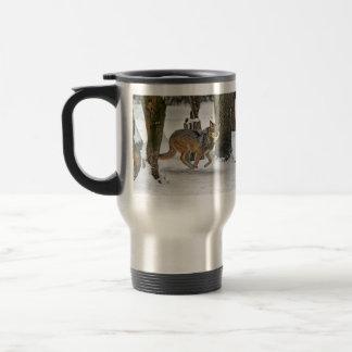 Wolf RunningTravel Mug
