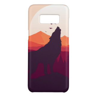 Wolf Samsung Galaxy S8, Barely There Phone Case