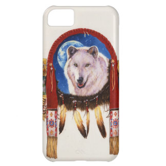 Wolf Shield Native American iPhone 5C Cases