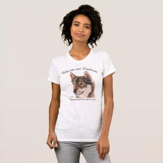 "Wolf Shirt ""Educate not Eradicate"""