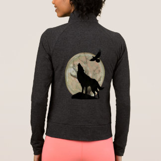 Wolf Silhouette Full moon Cool Graphic Jacket