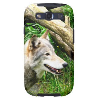 Wolf Smile Galaxy S3 Cover