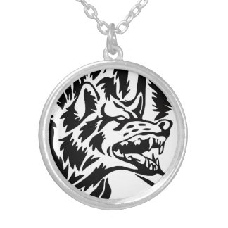 Wolf Snarl Necklace