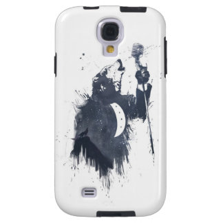 Wolf song blue galaxy s4 case