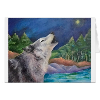 Wolf Song Card