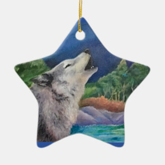 Wolf Song Ornament