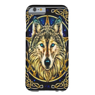 Wolf Spirit Art Nouveau Barely There iPhone 6 Case