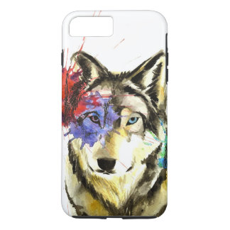 Wolf Splatter Case-Mate iPhone Case