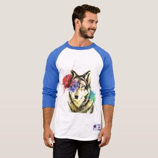 Wolf Splatter T-Shirt