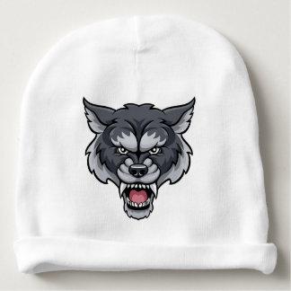 Wolf Sports Mascot Baby Beanie