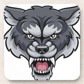 Wolf Sports Mascot Coaster