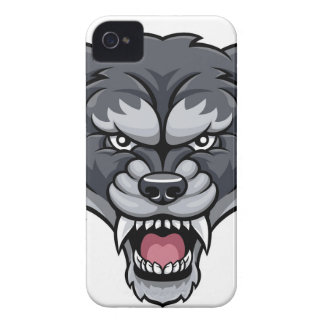 Wolf Sports Mascot iPhone 4 Case