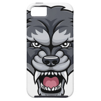 Wolf Sports Mascot iPhone 5 Cases