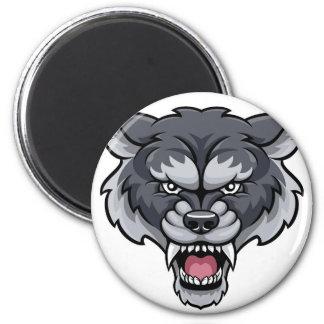 Wolf Sports Mascot Magnet