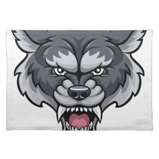 Wolf Sports Mascot Placemat