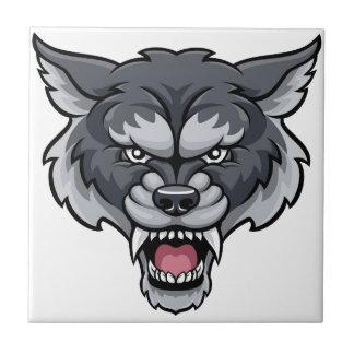 Wolf Sports Mascot Tile