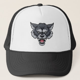 Wolf Sports Mascot Trucker Hat
