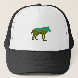 Wolf stroll trucker hat