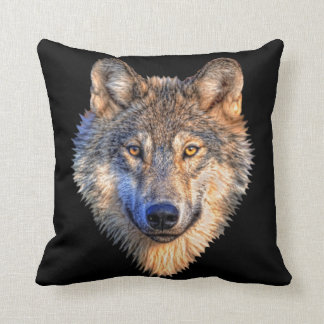 Wolf Style Throw Pillows