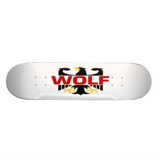 Wolf Surname Skate Board Deck