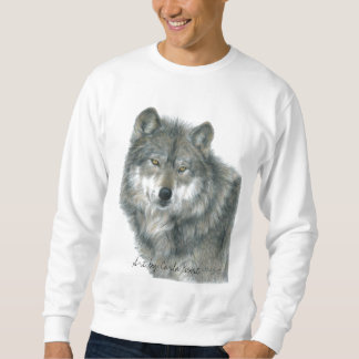 Wolf Sweatshirt, Unisex, Adult sizes Sweatshirt