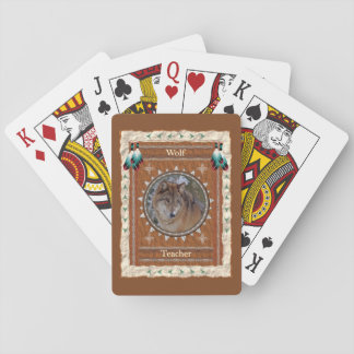 Wolf  -Teacher- Classic Playing Cards