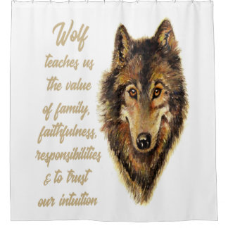 Wolf Totem Animal Spirit Guide for Inspiration
